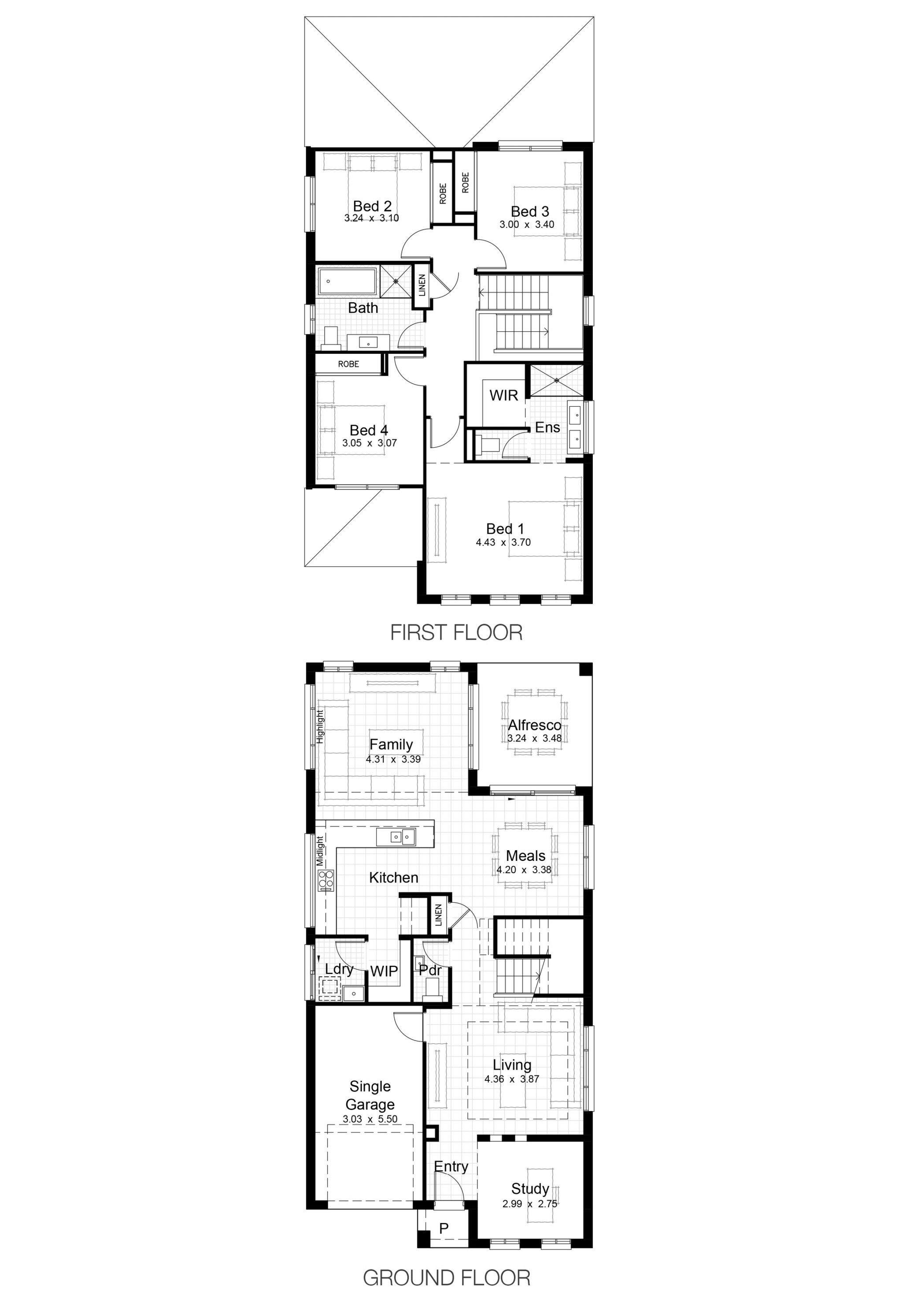 Single Level Plan_Lot 27