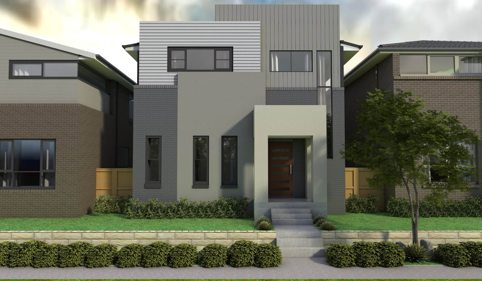 Lot 14 - Hezlett Road Body Facade