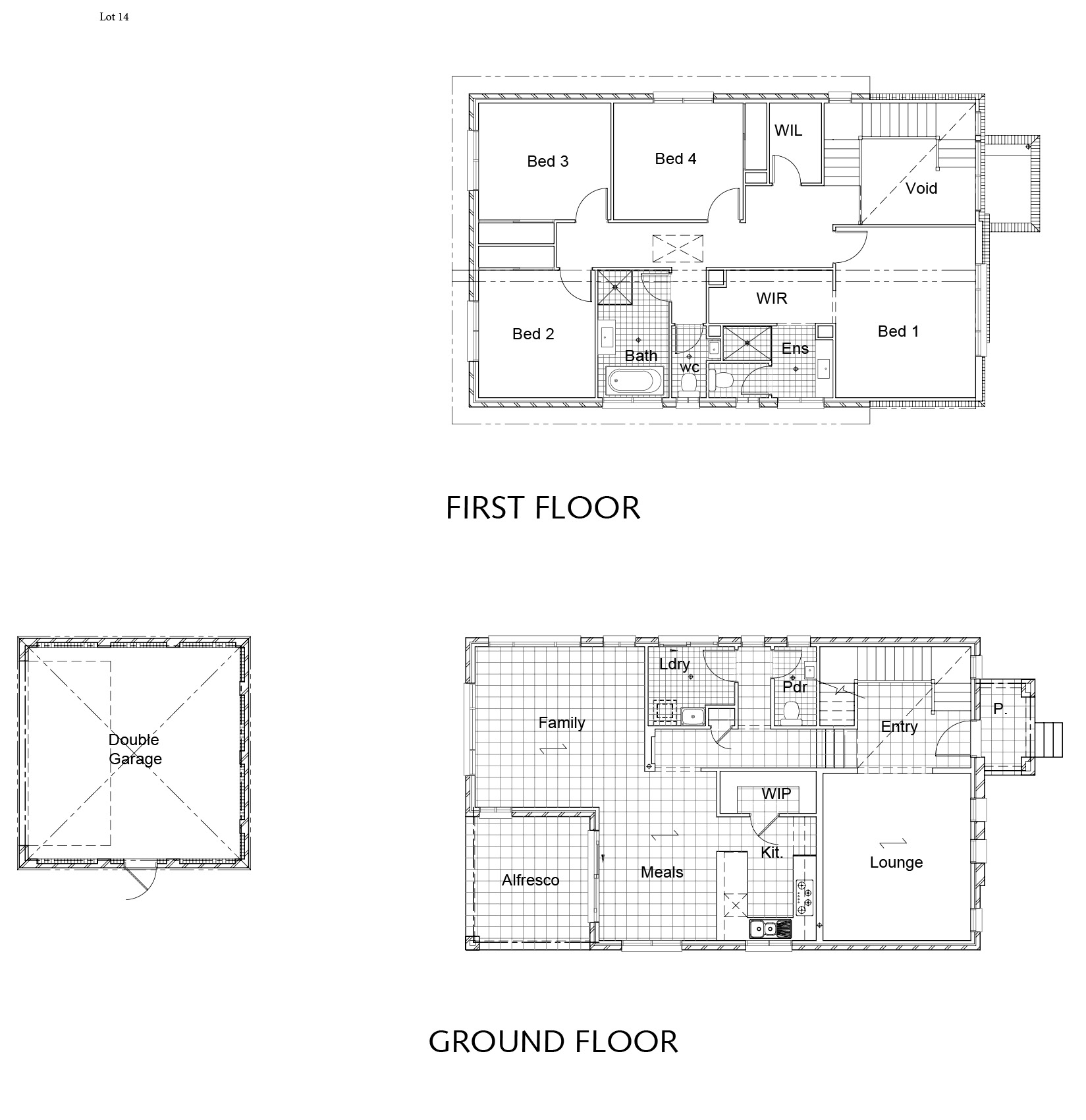 Lot 14 - Hezlett Road_Plan