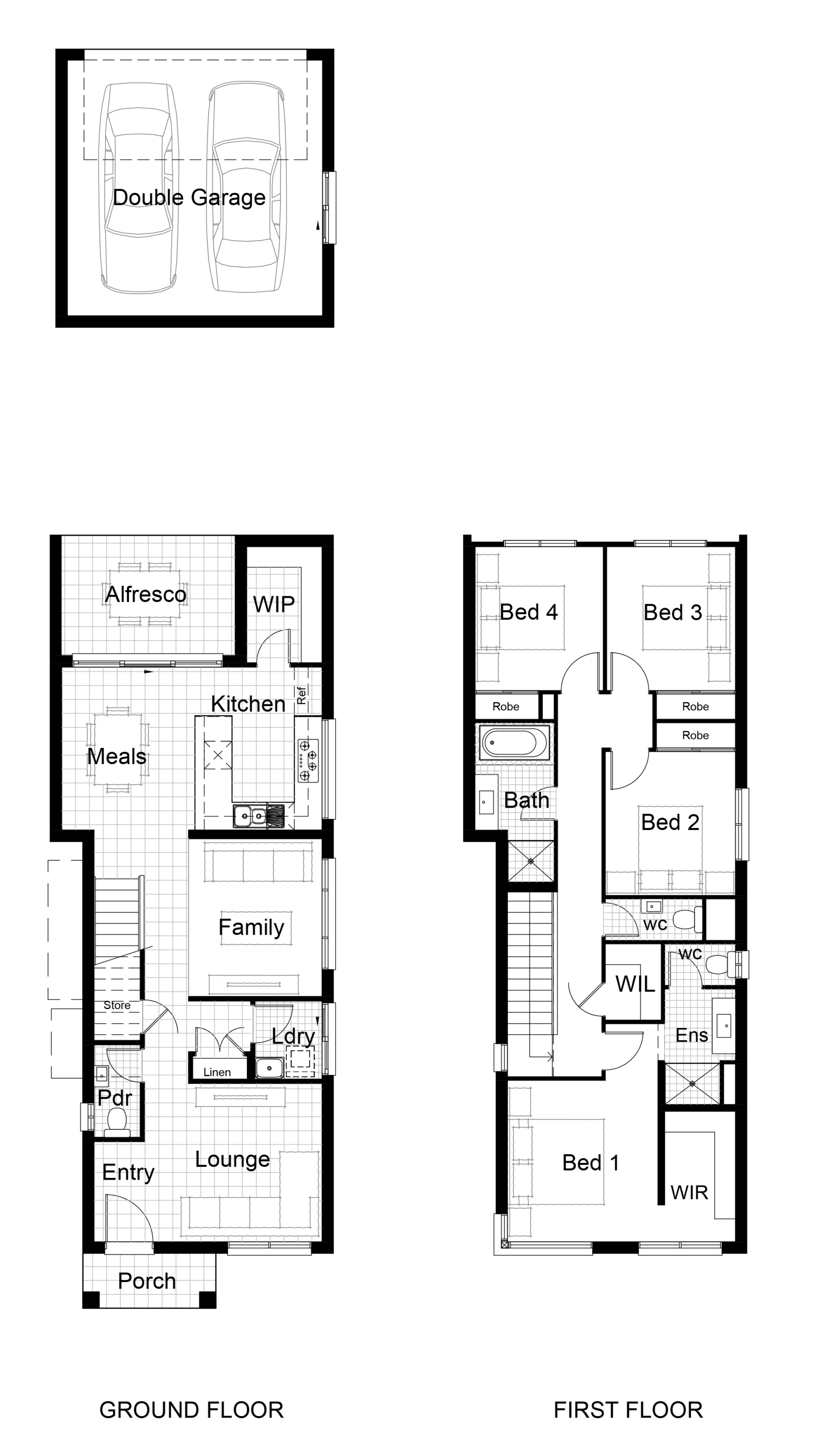 Lot 318 Winter Street Leppington Floor Plan