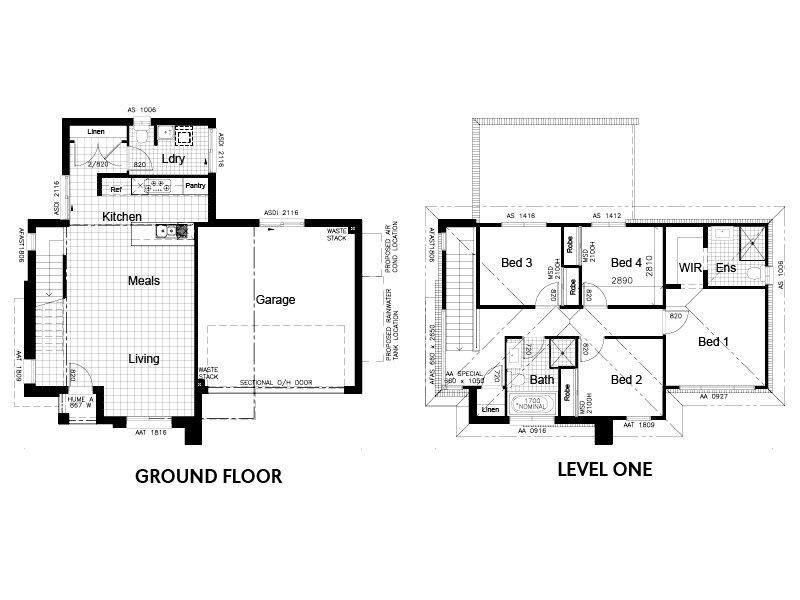 Lot 118 Hillside Estate, Riverstone_floor plan for REA